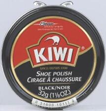 Kiwi 10111 1-1/8 Oz Black Shoe Polish