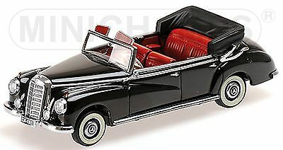 Intellective Mercedes Benz 300 Cabriolet W186-1952 650 Pcs 100% High Quality Materials 1:43 Black Lim