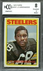 1972-topps-101-L-C-GREENWOOD-pittsburgh-steelers-rookie-card-BGS-BCCG-8