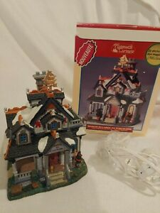 Lemax-Village-Plymouth-Corners-Seaside-Cottage-Item-85880-2003-Collection-FLAW