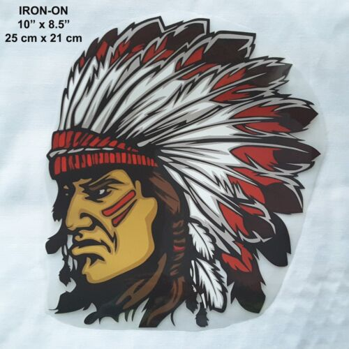 Tribal Pyrograph Ironon Clothing Heat Transfer Emblem Patch Applique