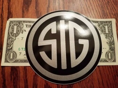SIG Authentic sticker