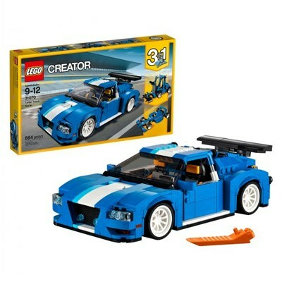 LEGO 31070 Creator Turbo Track Racer Brand New and Sealed