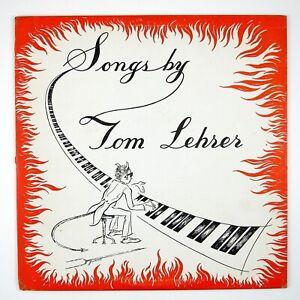TOM-LEHRER-Songs-By-Tom-Lehrer-10-034-LP-1953-POP-NOVELTY-NM-NM