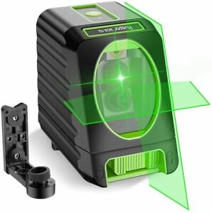 Self-Leveling-Laser-Level-150ft-45m-Outdoor-Cross-Line-Magnetic-Base-Green