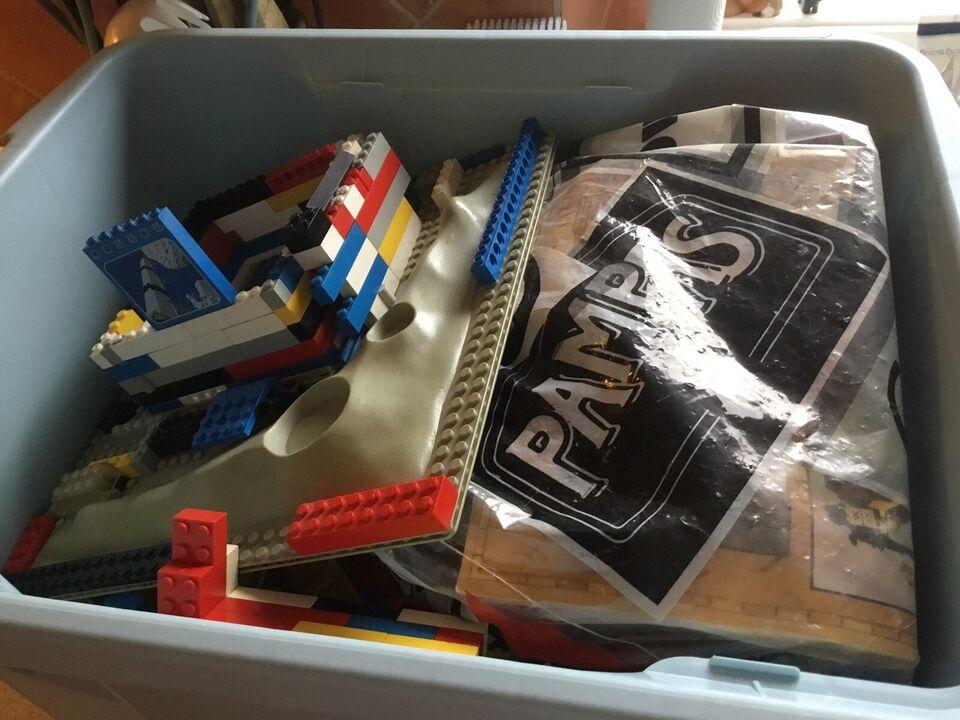 Lego blandet, Assorterede Legoklodser, Sørøverskib
