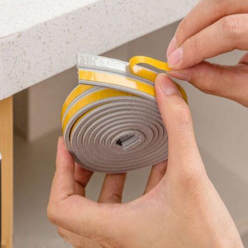5M Door Window Seal Strip Self Adhesive Foam Sound-Proof Windproof Tape Roll US