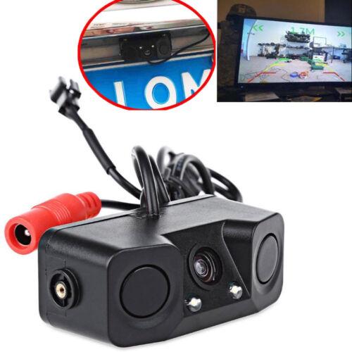Waterproof 3-In-1 Car Parking Reversing Radar Beeper Backup Rear View Camera kit