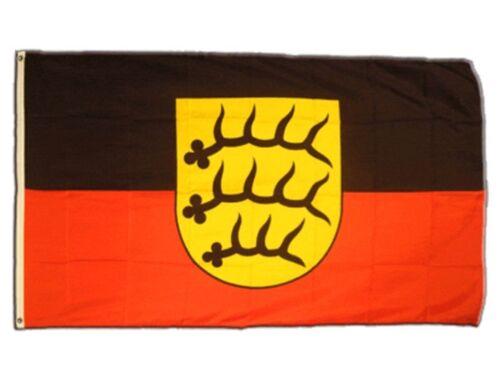 Drapeau Allemagne Wurtemberg-prennent 1945-1952 Drapeau Hissflagge 90x150cm