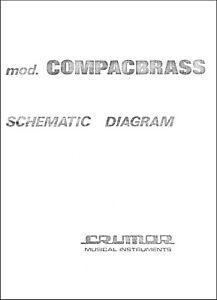 CRUMAR Compac Brass Service Manual Repair Schematic Diagrams Schema elettrico