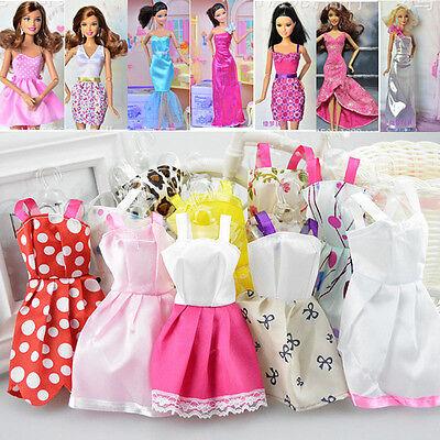 5 PCS Fashion Princes Dress/Wedding Clothes/Gown For 29cm Barbie Doll