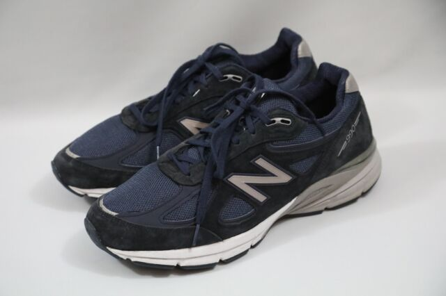 best service ddb31 90253 #328 New Balance 990 Men Blue Sneakers Size 10 D