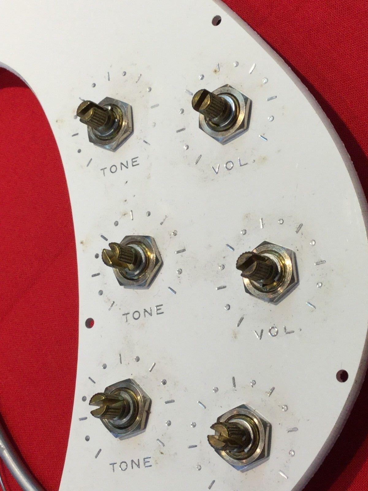 Vintage Vintage Vintage USA Kay  profesional  arnés de guitarra golpeador Ollas Interruptor 1966-Raro de5fd6