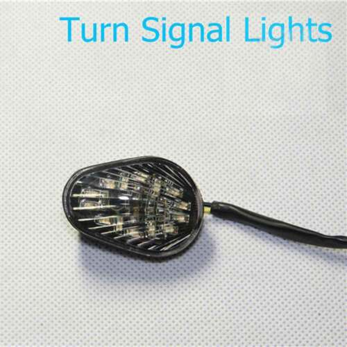 Clear LED Turn Signal Light Flush Mount For 2003 2004 2005 Yamaha YZF-R6 YZFR6