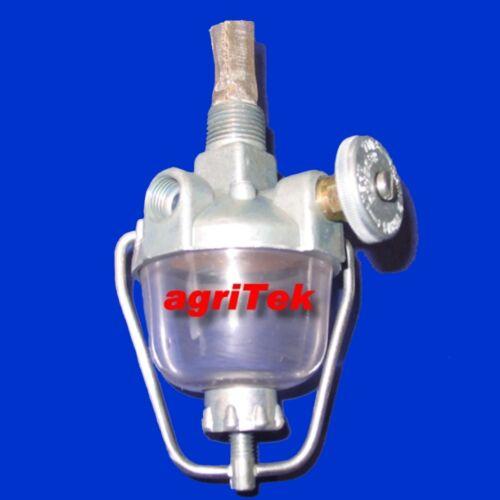 Tankhahn Benzinhahn Hahn mit Vorfilter Kraftstoffhahn für Ferguson TEA 20 TED 20