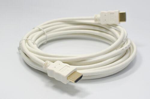 mit Ethernet HDMI 2.0//1.4a kompatibel BC 10m Premium HDMI Kabel Weiß