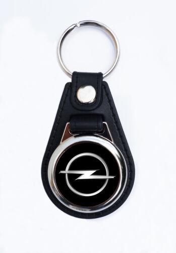 OPEL FAUX LEATHER KEY RING//KEY FOB