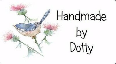 Bird /& Thistle 65 Personalised Mini Address labels Handmade etc