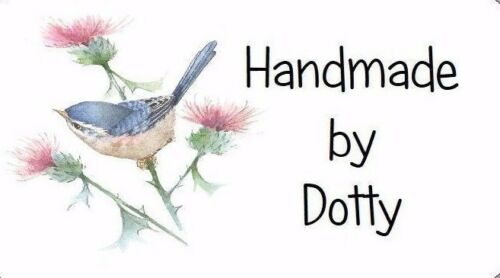 Bird /& Thistle 260 Personalised Mini Address labels Handmade etc