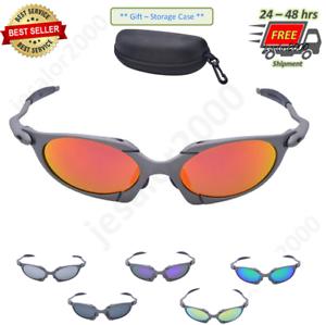 X-Metal Juliet Cyclops Sunglasses Ruby Polarized UV400 Glasstitanium Goggles