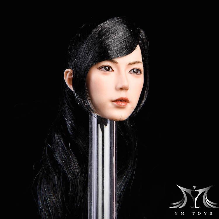 Pre-order Pre-order Pre-order YMTOYS 1 6 Scale Female Head YMT019  Jing   H Suntan For 12in Figure b4cd06