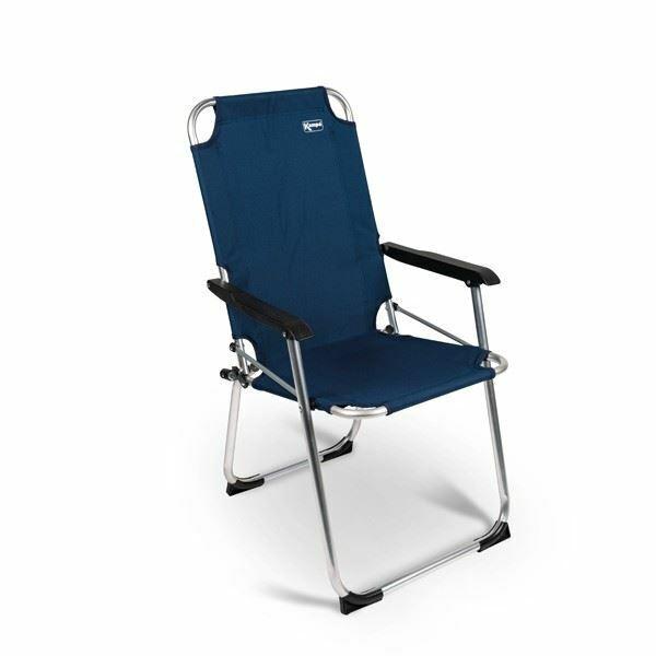 Kampa Summer Folding Chair XL bluee