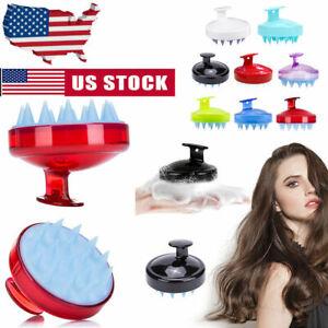 Durable Scalp Shampoo Massage Brush Wash Massager Shower Head Hair Care Comb