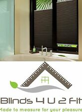 Pleated Blind~Door Blind~Window Blind~Made To Messure~Any Colour~50cm W X 50cm H