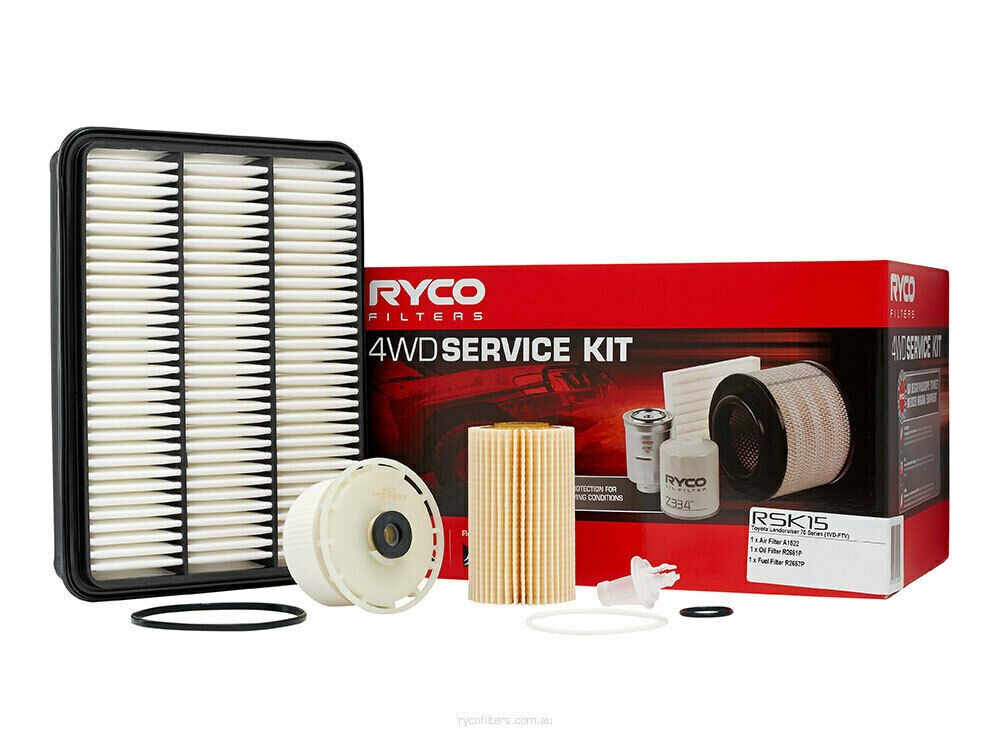 Ryco 4x4 Filter Service Kit RSK34C