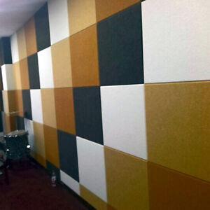 DIY Decor Polyester Fibre Acoustic Studio Soundproof Wall ...