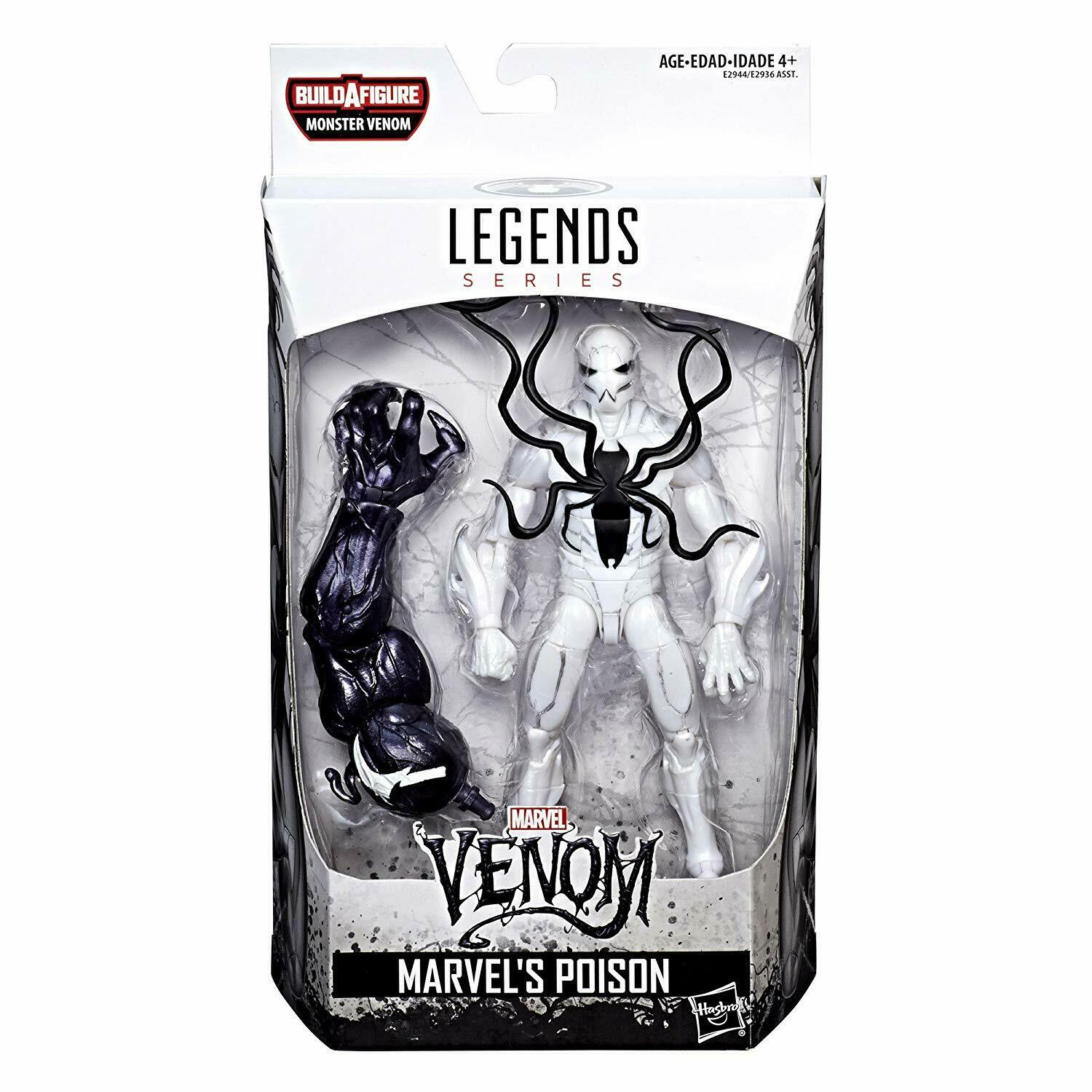 Marvel E2944 Legends Poison SPD Action Figure