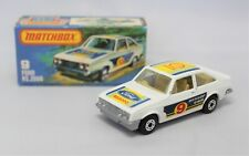 """Matchbox Superfast No9 FORD ESCORT RS2000 with """" MEGA RARE """" SILVER BASE """" WOW"""