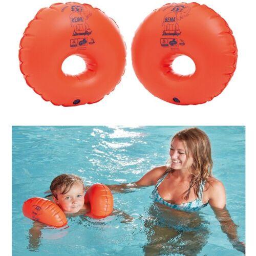 BEMA®  Kinder Schwimmfluegel  rund  mit Schaumstoffkern für 3-6 Jahre bis 30Kg