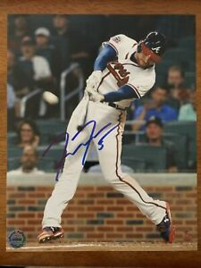 Freddie Freeman Signed Autographed Atlanta Braves 8x10 Photo W/COA 2020 NL MVP