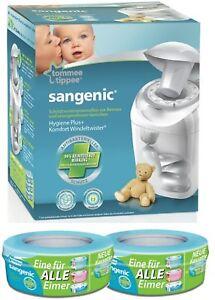 Sangenic Windeltwister MK4 Hygiene Plus+ Windeleimer inkl. 2 Nachfüllkassetten