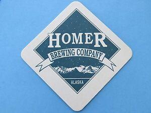 10.2cm Bière Dessous De Verre : Homer Brewing Co ~ ~ Alaska Depuis 1996 ~ Frais Rfnmxznn-08003356-697686357