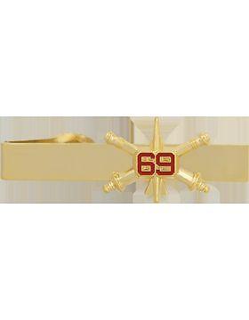 69th Air Defense Artillery BOS Officer Tie Bar NS-TB-RO-ADA-069 No-Shine