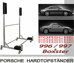 hardtopst nder halter porsche 996 997 carrera 4 4s cabrio. Black Bedroom Furniture Sets. Home Design Ideas