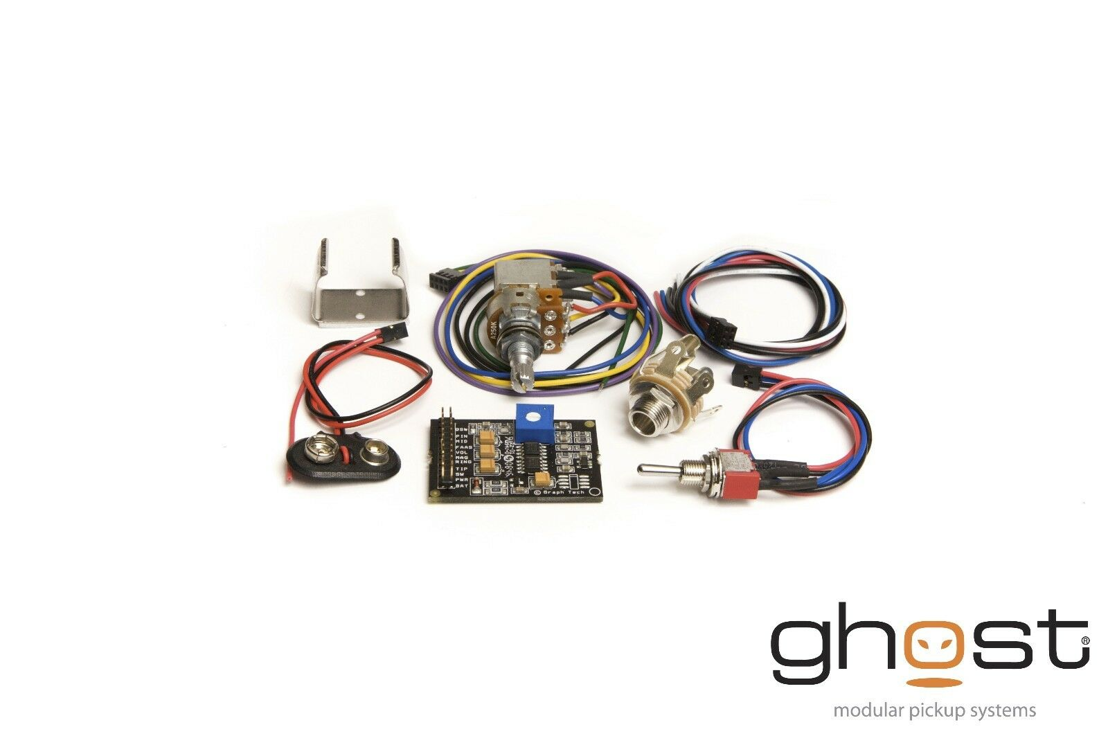 Graph Tech Ghost Acousti-Phonic preamp Kit PK-0340-00 for Bass - NEW
