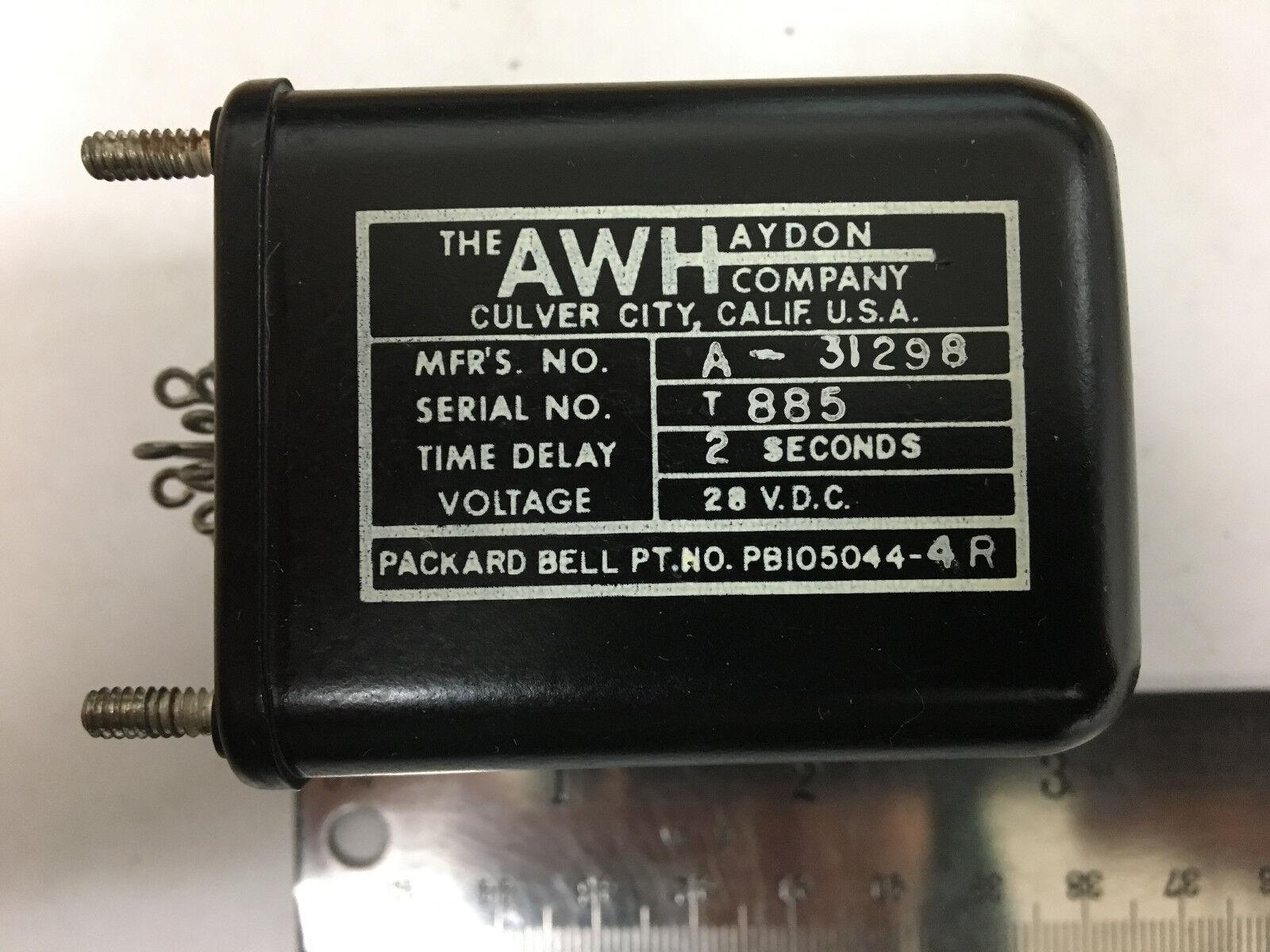 La empresa Vcc awhaydon PB105044-4R A-31298 28 Vcc empresa 2 segundos 282f43