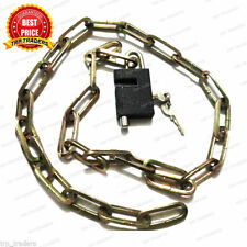 Heavy Duty Multi Utility Cable Chain Lock Bike Cycle Helmet Luggage WindowLocker