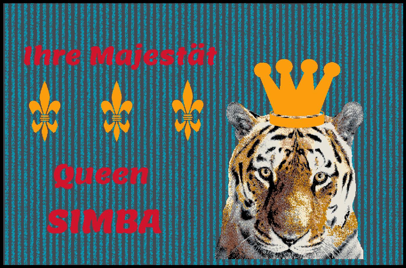 Fußmatte mit Namen Napfunterlage Katzenmatte  90x60 90x60 90x60 cm  Design 27180405 | Gute Qualität  e936cb