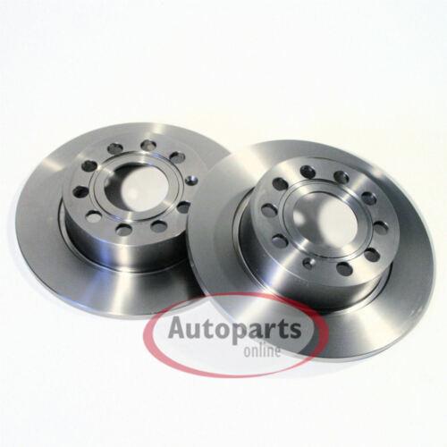710 Seat Alhambra Bremsscheiben Bremsbeläge für hinten Hinterachse