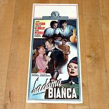 LA DAMA BIANCA locandina poster June Allyson Arthur Kennedy John Sturges E78