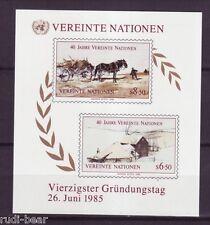 UNO Wien  Block    2  **    45 Jahre Vereinte Nationen   #