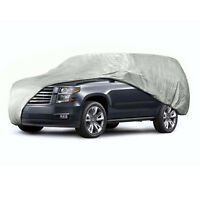 Anti Scratch Car Cover Universal Fit Large Size One Layer For Van And Suv on sale