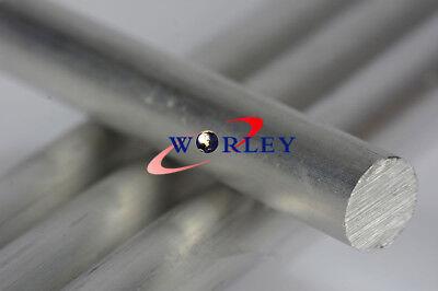 Φ40mm x 300mm ALUMINUM 6061 Round Rod 40mm Diameter Solid Lathe Bar Stock Cut