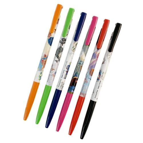 Disney Pixar Toy Story 20th Anniv Retractable Gel Pen 6 color set