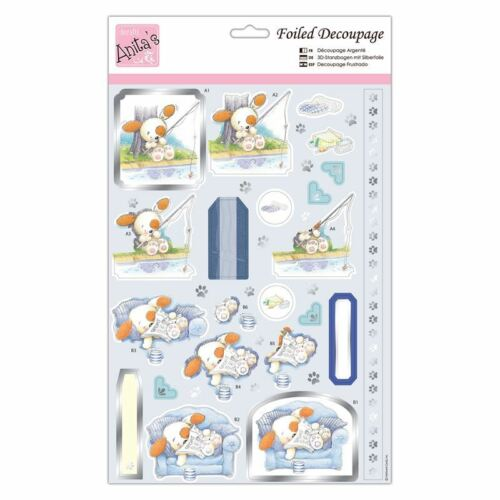 DOCRAFTS Anitas Decoupage frustrado-Chill Out Pup