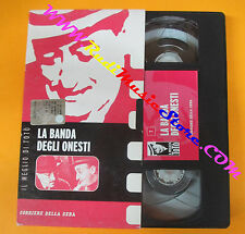 VHS film LA BANDA DEGLI ONESTI Il meglio di Toto' 7 CORRIERE SERA (F95) no dvd